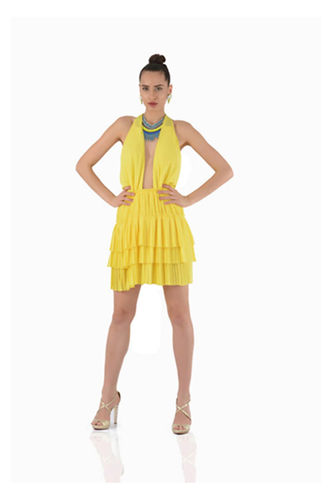 Yellow Party Dress